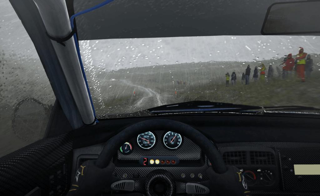 Dirt Rally PlayStation VR cockpit