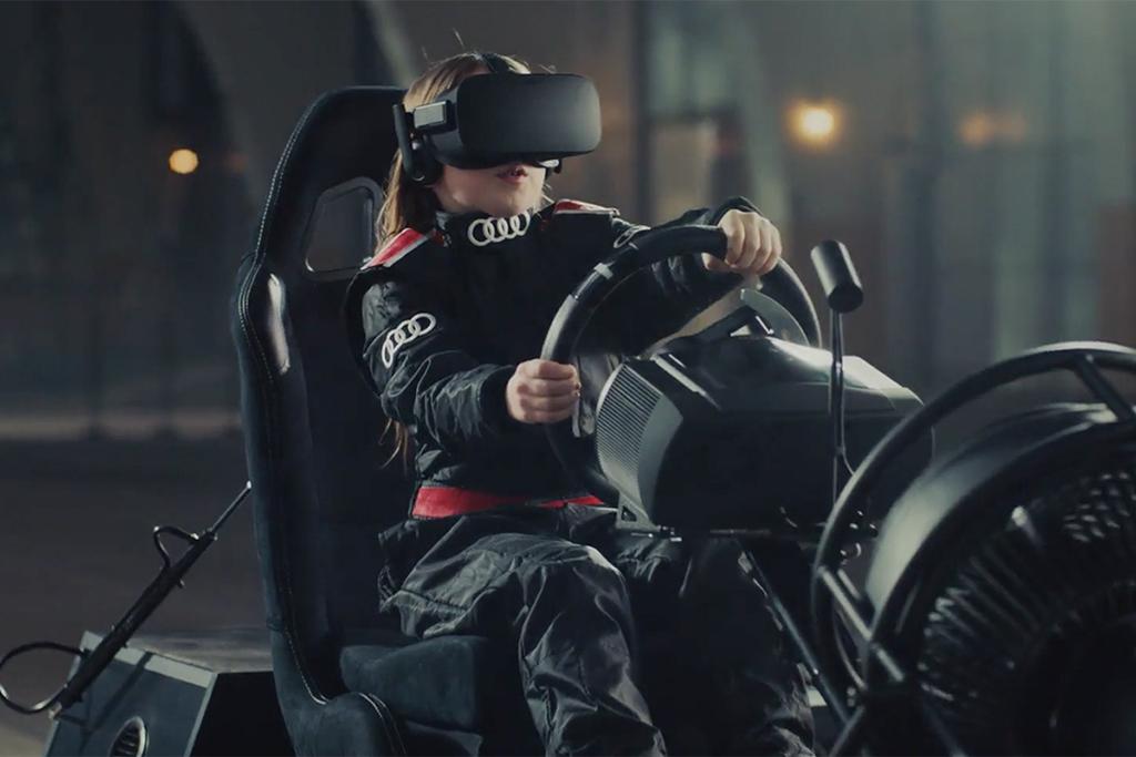 Enter Sandbox, l'expérience VR immersive du nouveau Q5 d'Audi