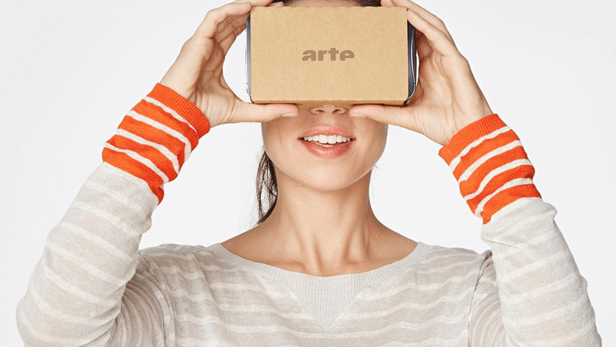 L'application VR sur mobile, ARTE 360