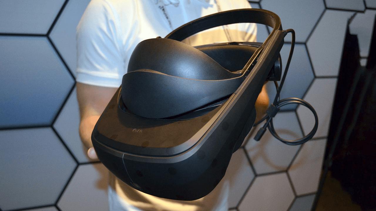 Casque LG EZ VR prototype