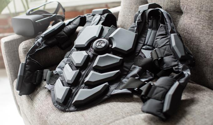 Le gilet sensoriel pour la VR : le Hardlight VR