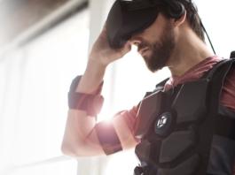 Le gilet Hardlight VR, l'accessoire d'immersion ultime pour la réalité virtuelle