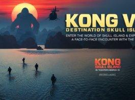 Kong VR : Destination Skull Island, l'expérience en réalité virtuelle du nouveau film King Kong