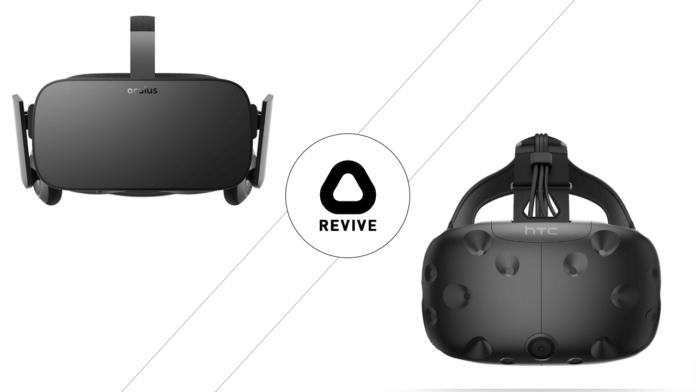 Hack ReVive pour le portage sur HTC Vive des jeux Oculus Rift