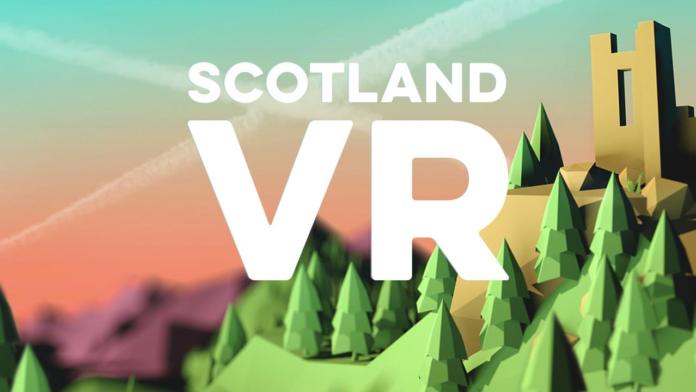 L'application ScotlandVR pour visiter l'Écosse en réalité virtuelle