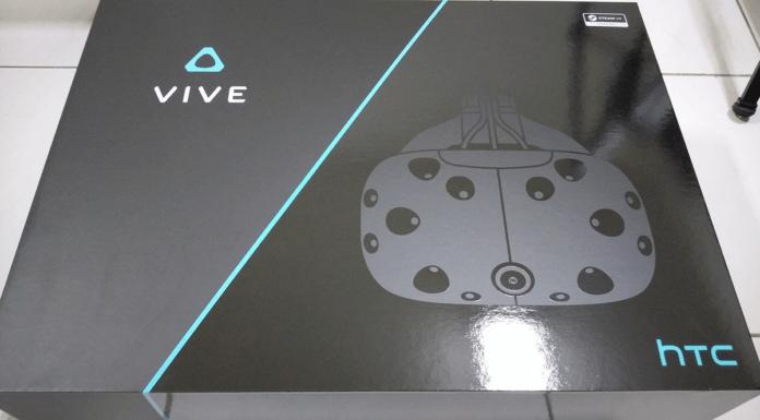 La boîte du HTC Vive