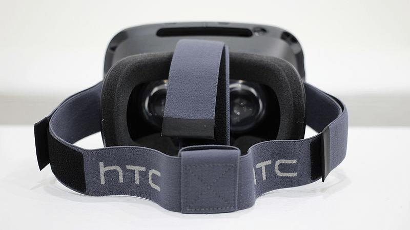 Le HTC Vive est un casque VR confortable