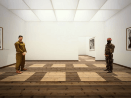 """L'expo en VR """"The Enemy"""" vous place au milieu de deux ennemis d'un conflit armé qui se déroule en ce moment même dans le monde"""