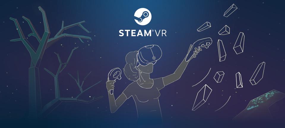 Steam VR s'est imposé comme le catalogue de contenus en VR le plus fourni !